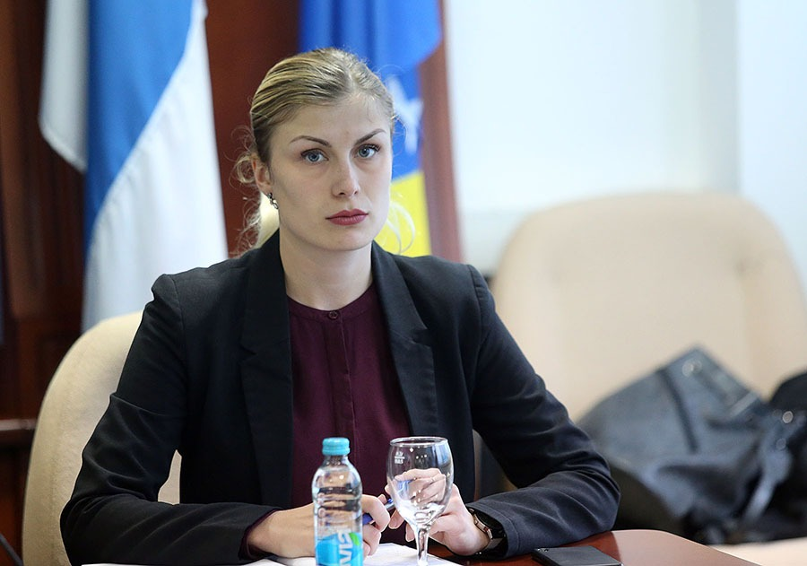 Danica Gnjatović, portparol MUP-a Republike Srpske
