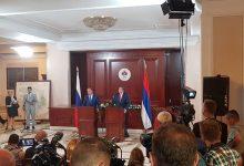 Milorad Dodik i Sergej Lavrov na press konferenciji