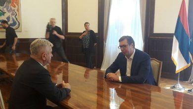 Nedeljko Čubrilović i Aleksandar Vučić