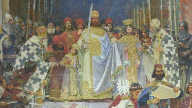 Paja Jovanović, Krunisanje Cara Dušana