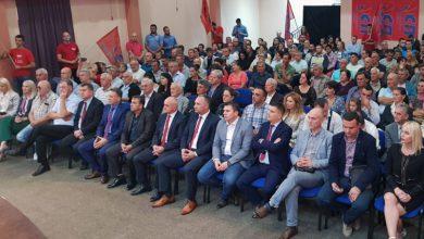 Predizborni skup SP-a u Loparama