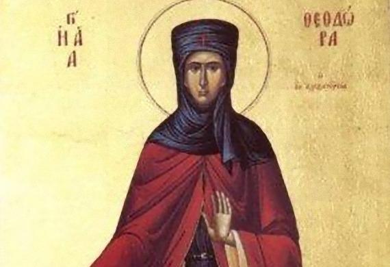 Prepodobna Teodora