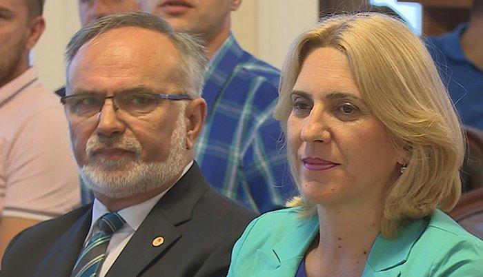 Dane Malešević i Željka Cvijanović