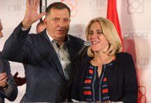 Milorad Dodik i Željka Cvijanović