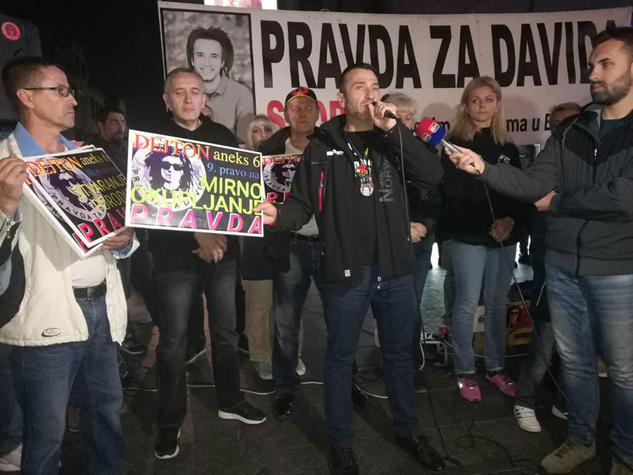 Pravda za Davida, 10.11.2018. godine / foto: Nikola Morača