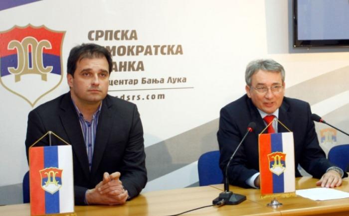 Vukota Govedarica i Mladen Bosić
