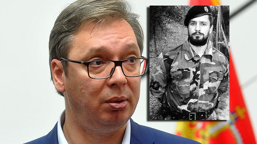 Aleksandar Vučić i Naser Orić