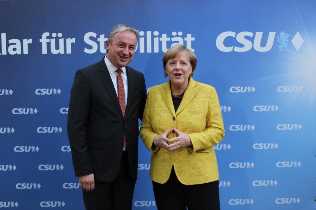 Branislav Borenović i Angela Merkel
