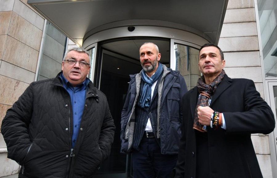 Muriz Memić, Ifet Feraget i Davor Dragičević