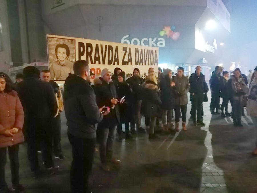 Pravda za Davida, 2.12.2018. godine / foto: Goran Obradović