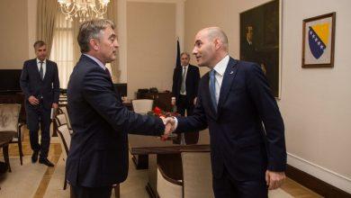 Željko Komšić sa ambasadorom Srbije