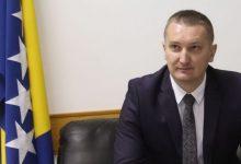 Josip Grubeša, ministar pravde Bosne i Hercegovine