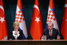Kolindа Grabar-Kitarović i Recep Tayyip Erdogan
