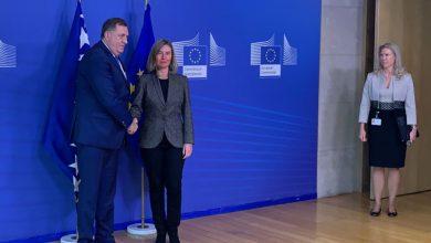 Milorad Dodik i Federika Mogerini